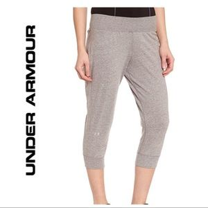 Under Armour Grey Charged Cotton Capri Pants